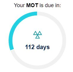 MOT due reminder