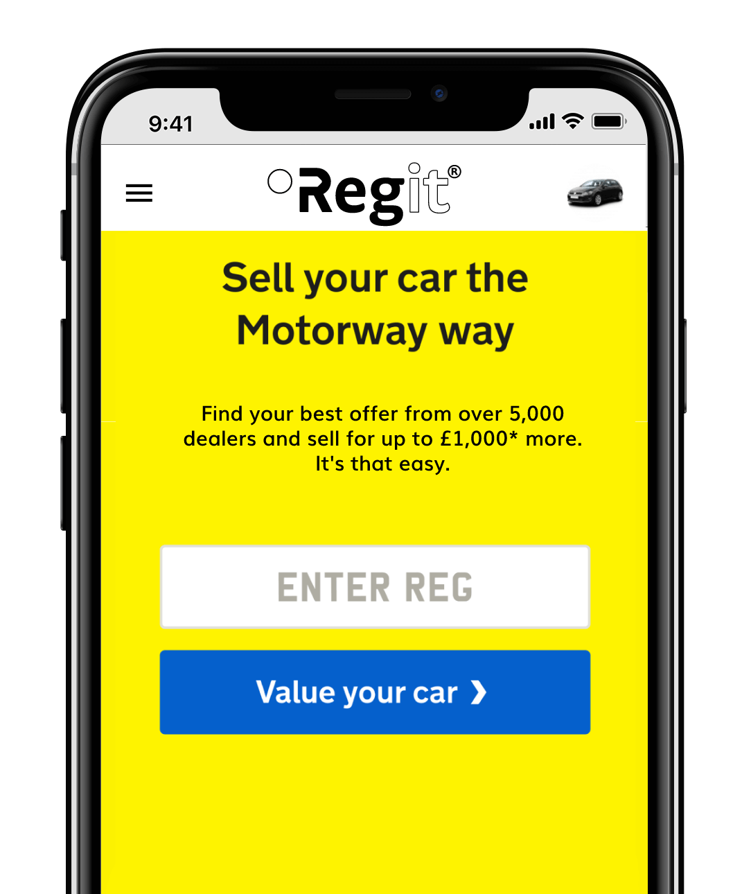 Sell your car preview