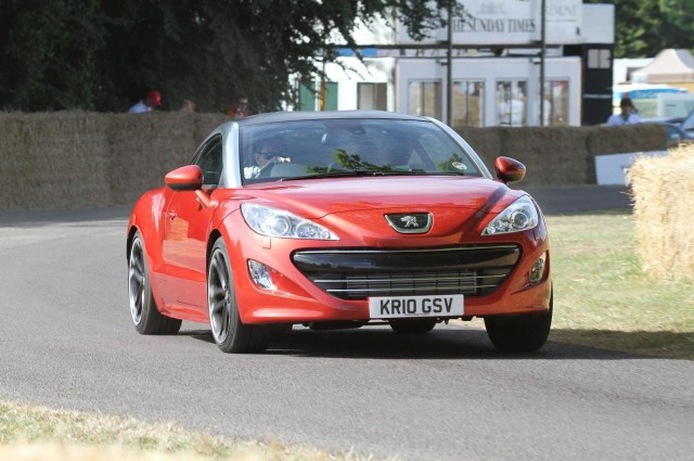Top Gear Award for the Peugeot RCZ