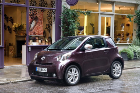 Toyota iQ exempt from congestion charge