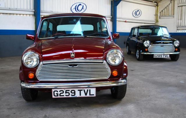 Barn Find: Mini 30 Special Editions With Delivery Mileage