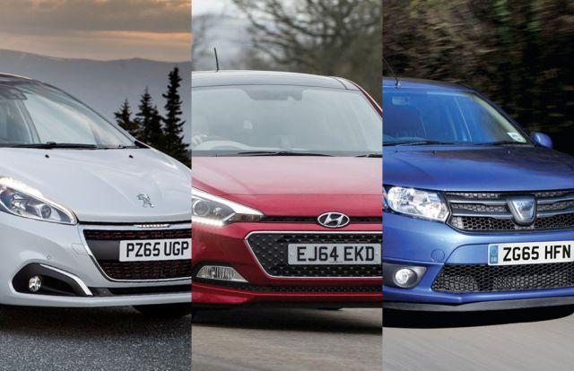 Group Test - Hyundai i20 vs Peugeot 208 vs Dacia Sandero