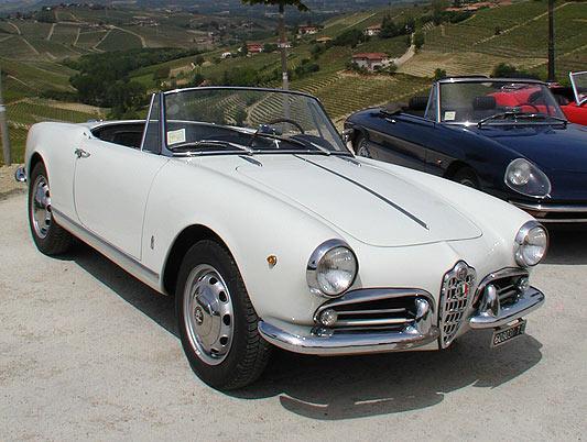 Classic Car Rental in Italy