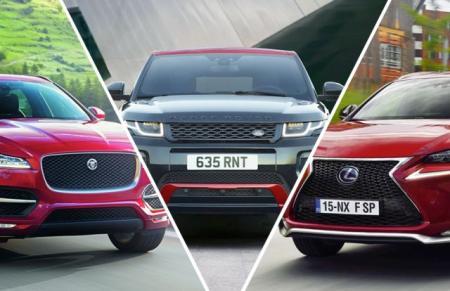 Group Test - Jaguar F-Pace vs Lexus NX vs Range Rover Evoque