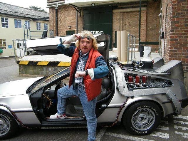 Keith Lemon Drives DeLorean DMC-12