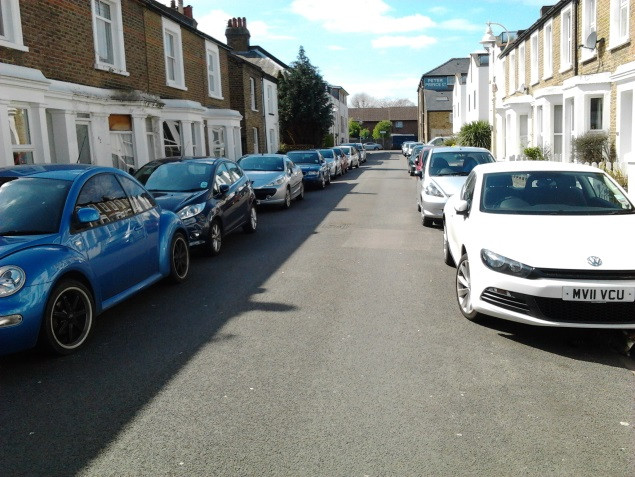 Drivers Avoid Moving Cars For Fear Of Losing On-Street Parking