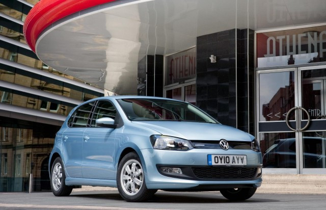 No Congestion Charges for Volkswagen Bluemotion models