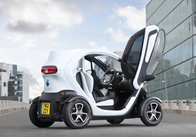 Renault Twizy updated for the winter