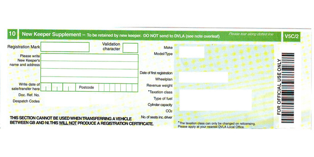 Registering a Vehicle