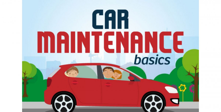 Infographic: Car Maintenance Basics