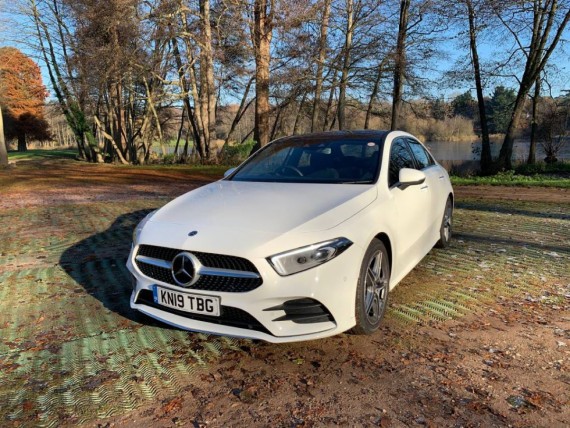 Mercedes-Benz A-Class Saloon 4MATIC AMG 2019 Review