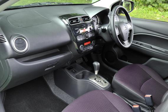 Mitsubishi Mirage Juro 2017 Review