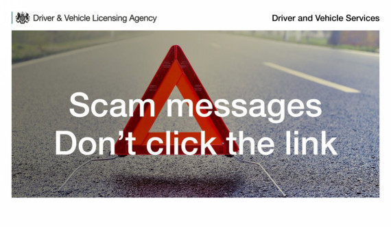 DVLA Scam Text Message Warning As Crooks Cash-In Image 0