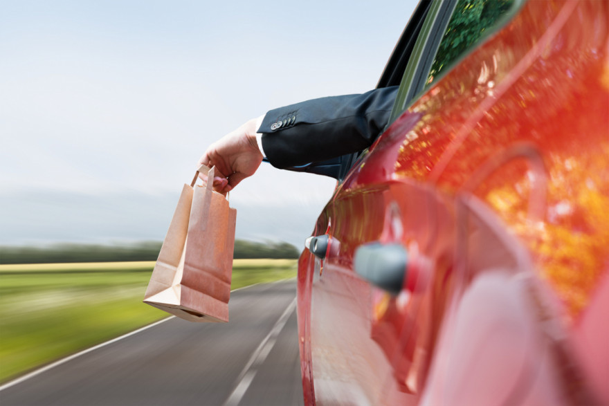 Higher Penalties for Motorists That Throw Litter from Vehicles
