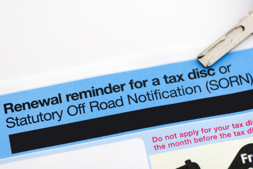 Beware: 34,000 Fined Last Year for Not Taxing 'Free to Tax' Vehicles