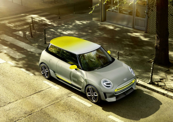 Mini Take the Wraps off Two New Concepts at the Goodwood Festival of Speed Image 0