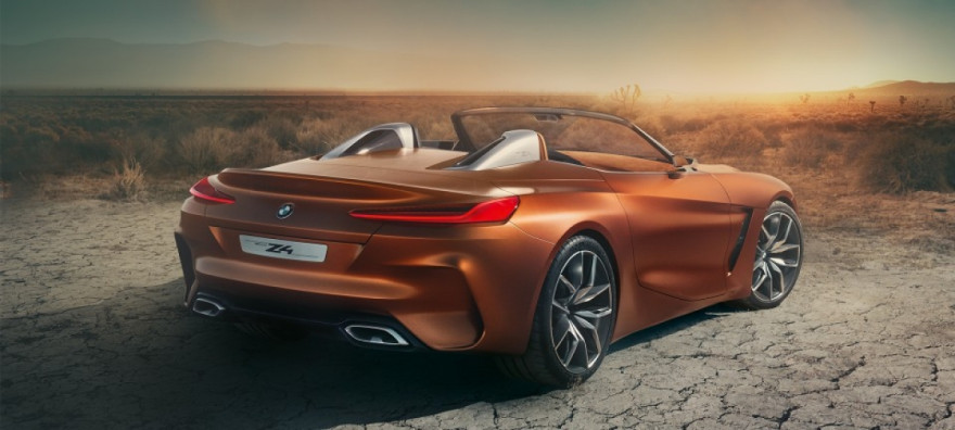 A Closer Look at the BMW Z4 Concept