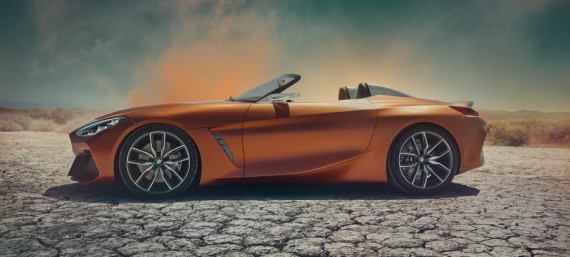 A Closer Look at the BMW Z4 Concept Image 0