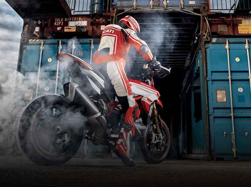 Ducati Showcases New Motorbike Anti-Crash Safety Tech