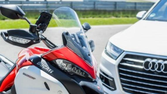 Ducati Showcases New Motorbike Anti-Crash Safety Tech Image 0