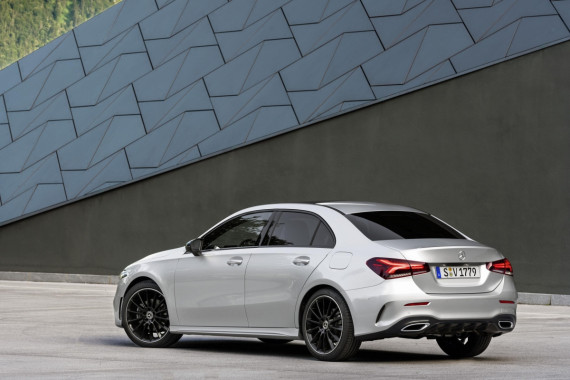 Mercedes-Benz Announce Their New A-Class Saloon Image 1