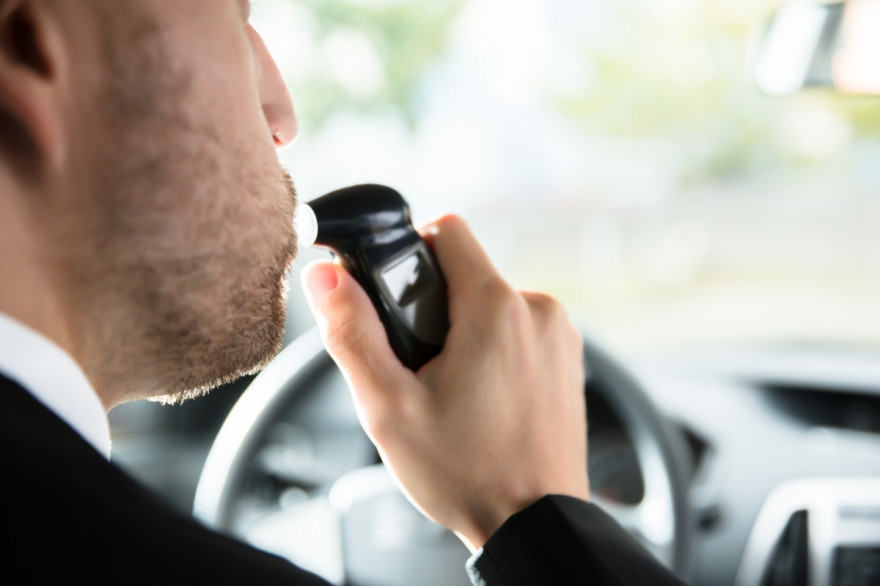 Cars with Breathalyser Ignition Lock Cannot Be Started by Drunks