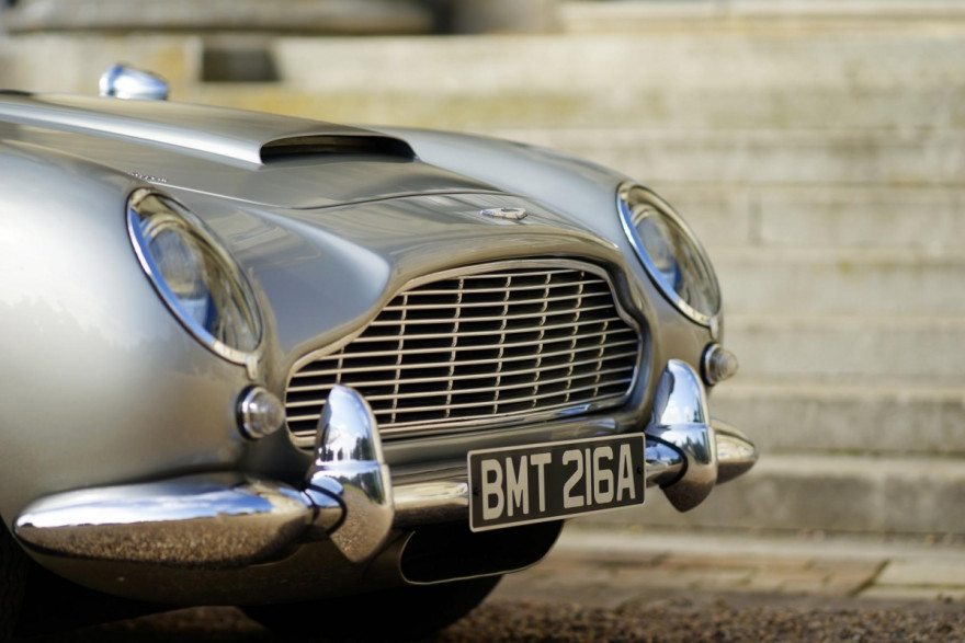 Aston Martin to Build Iconic DB5s Equipped with 007's Favourite Gadgets and a £2.75 Million Price Tag