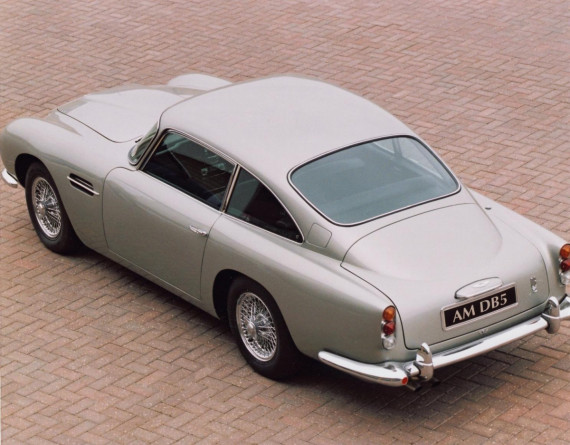 Aston Martin to Build Iconic DB5s Equipped with 007's Favourite Gadgets and a £2.75 Million Price Tag Image 1