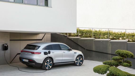 Mercedes-Benz Reveal Their New All-Electric SUV Image 0