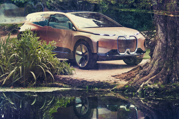 BMW Unveils Their Future Electric SUV, the iNEXT Concept Image 1