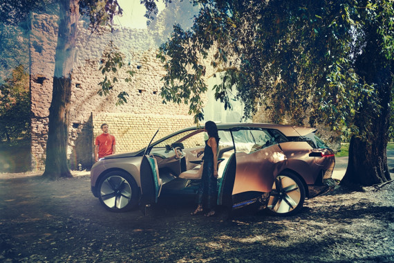 BMW Unveils Their Future Electric SUV, the iNEXT Concept Image 2