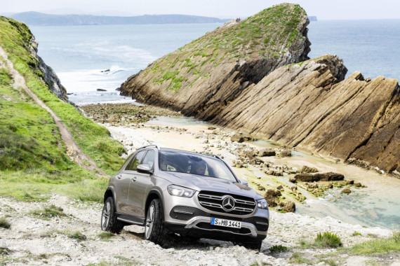 The New 2019 Mercedes-Benz GLE Revealed Image 1