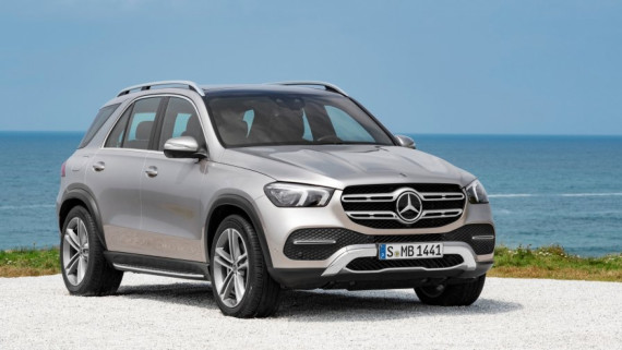 The New 2019 Mercedes-Benz GLE Revealed Image 2