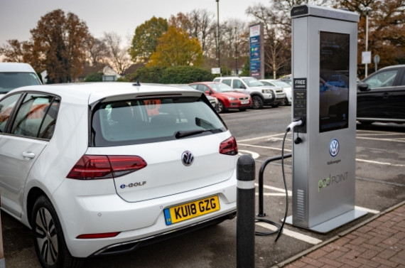 Volkswagen & Tesco to Build Vast Network of Electric Car Chargers Image 1