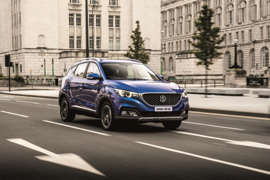 Meet the New MG ZS With a Big Warranty and a Small Price