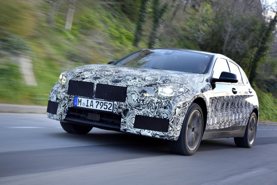 New BMW 1 Series Enters Final Testing Phase Image 0