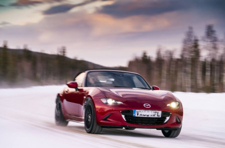 An Arctic Drive for the Mazda MX-5 30th Anniversary