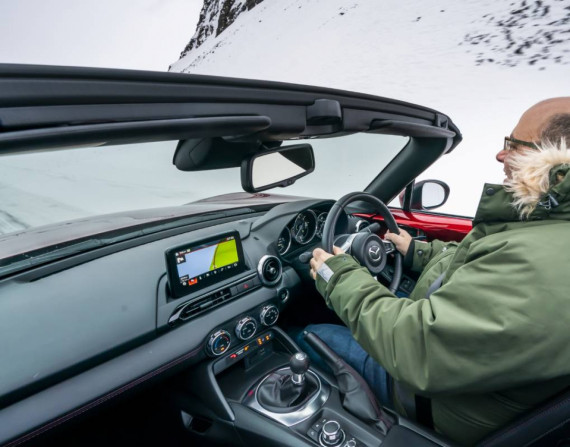 An Arctic Drive for the Mazda MX-5 30th Anniversary Image 1
