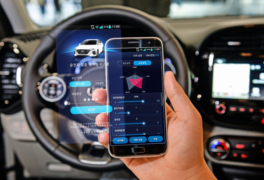 Hyundai Motor Group Launch Smartphone Based EV Controls