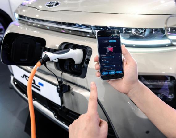 Hyundai Motor Group Launch Smartphone Based EV Controls Image 0