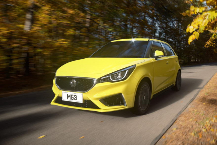 Meet the Quirky New MG3 City Car