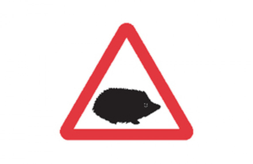 New Small Mammal Traffic Sign to Protect Motorists & Wildlife