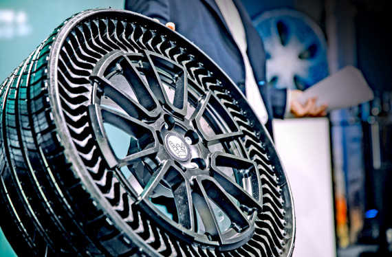 Airless, Puncture Proof Tyres on Your Car in 2024 Image 0