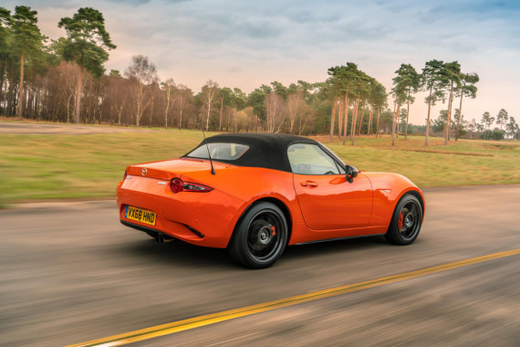 Introducing the Vibrant New Mazda MX5 Special Edition Image 2