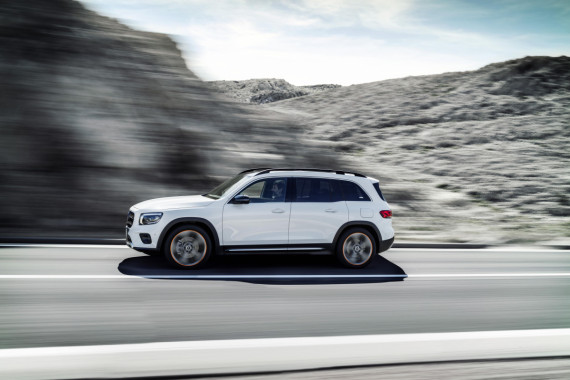 Mercedes-Benz Reveal UK Pricing and Specifications for the new GLB Image 1