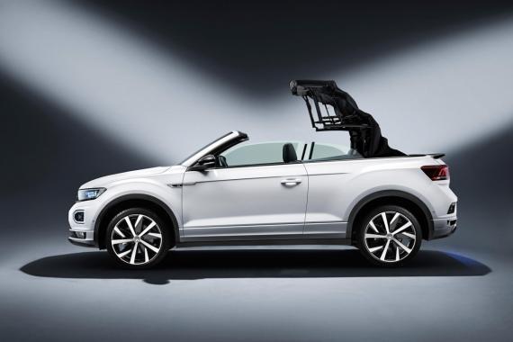 Volkswagen Have Unveiled the T-Roc Cabrio Image 0