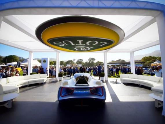 Lotus Launch the World's First Pure Electric British Hypercar Image 2