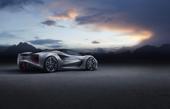 Lotus Launch the World's First Pure Electric British Hypercar Image 5