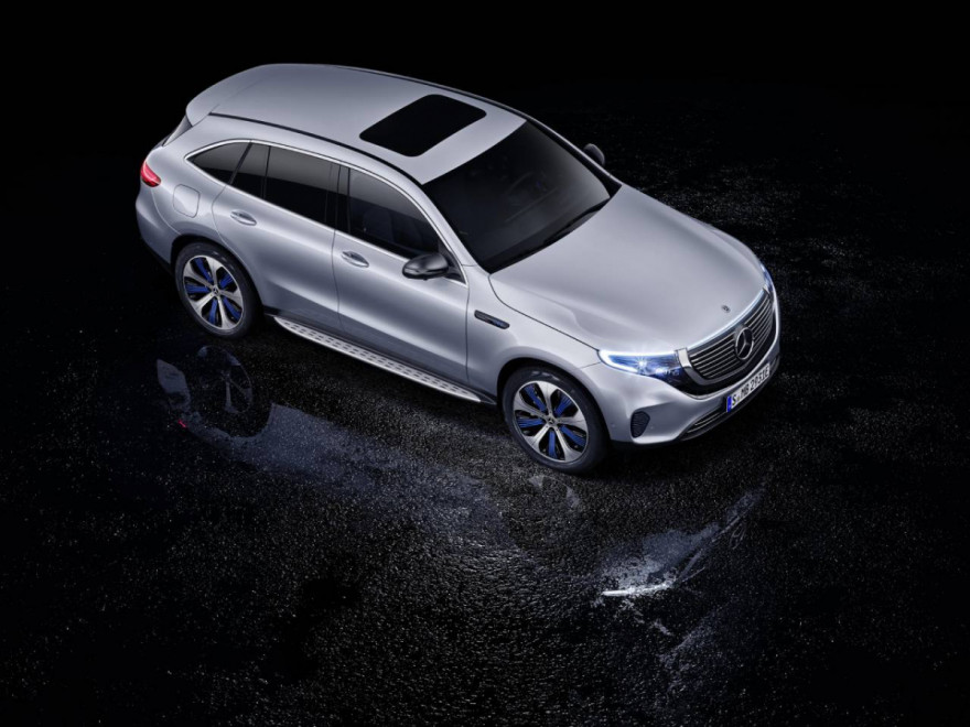 Mercedes-Benz EQC Gets 5 Stars in the Euro NCAP Test