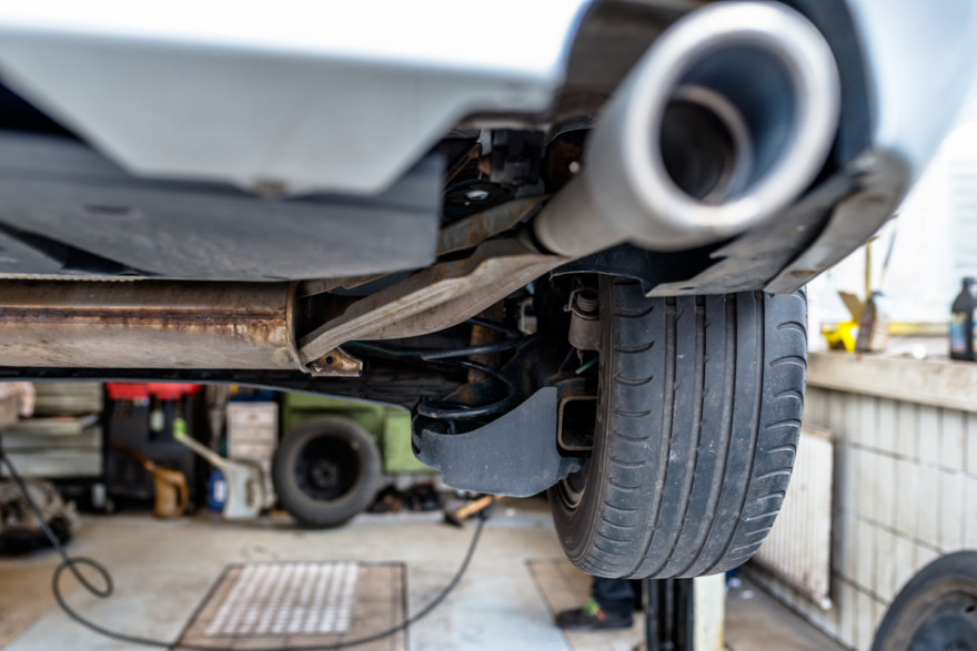 Surge in catalytic converter thefts